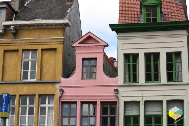 mooie huisjes in Gent