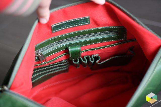 binnenkant tas