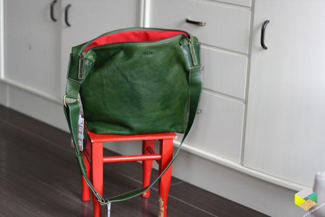 nieuwe tas Petra